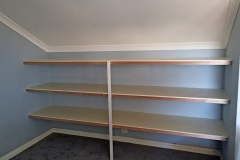 Complete Wardrobe Supplies Shelving Install